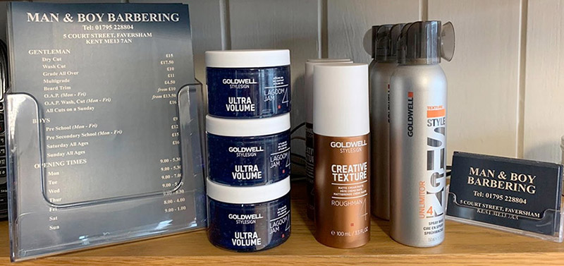 Suppliers of Goldwell and Morgan hair products